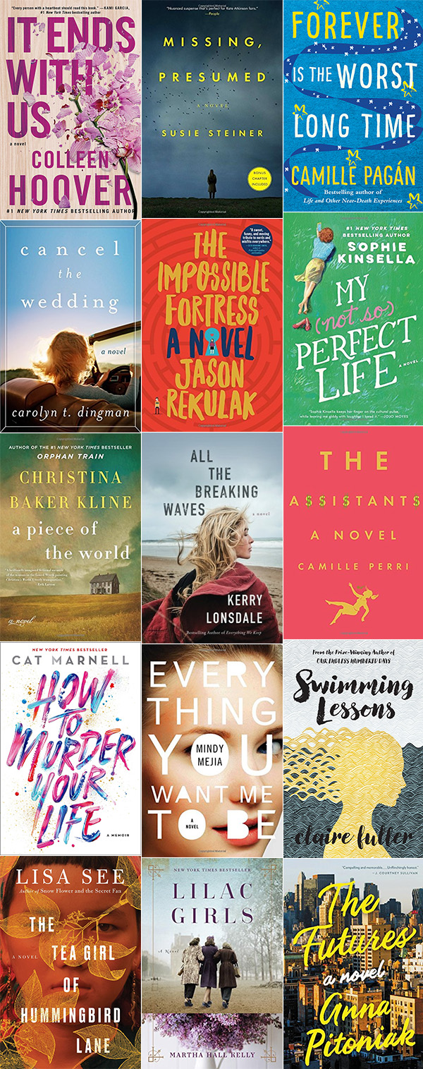 Ridgely Brode is gearing up for Spring Break with 15 book suggestions for your Kindle on her blog Ridgely's Radar.