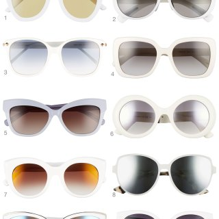 Glam it Up with One of these 10 White Sunglasses