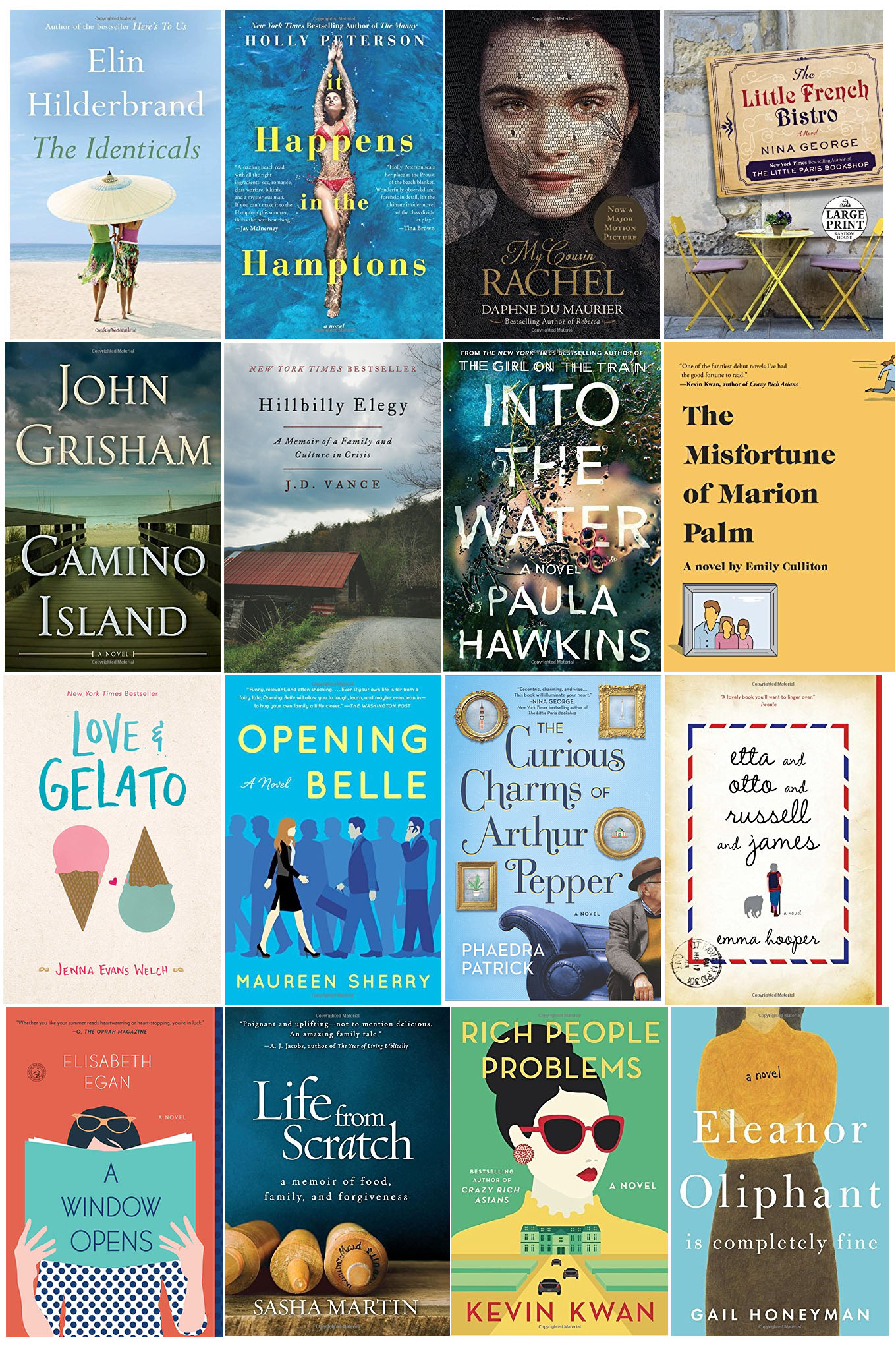 Need a good book to read? Ridgely Brode has selected 16 books to read this Summer and is sharing them on her blog, Ridgely's Radar.