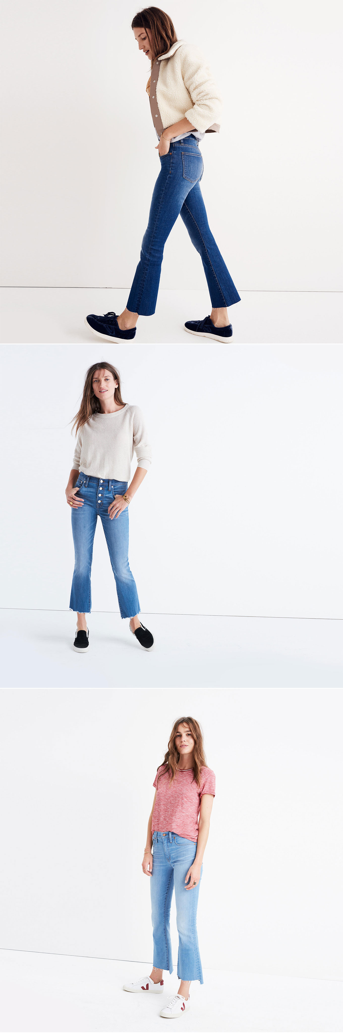 Seeing that frayed jeans are not going away,Ridgely Brode shows you her favorite pair and others that she can't wait to wear on Ridgely's Radar.