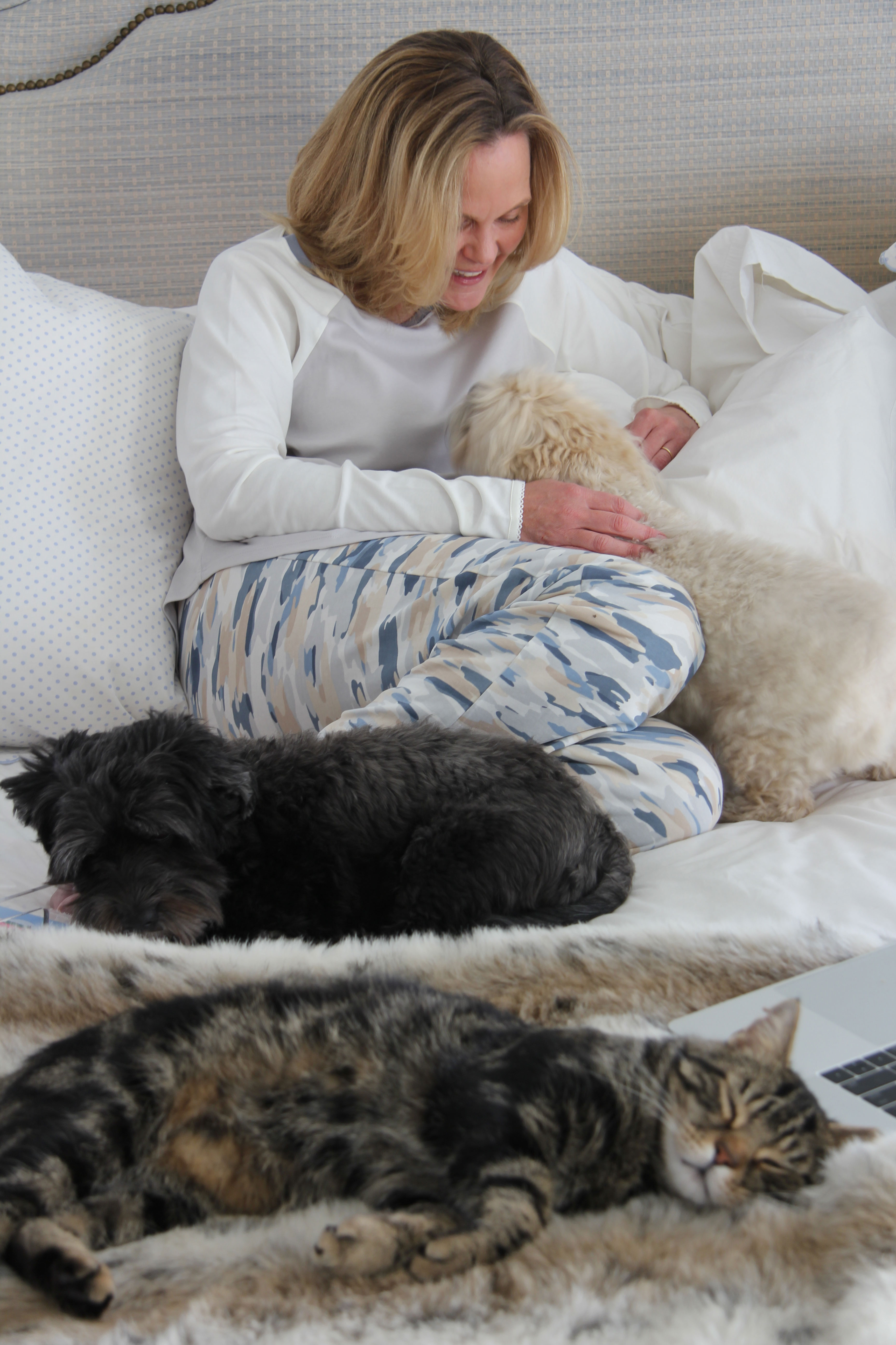 There is nothing better than a cozy, comfortable pair pf PJ's and Ridgely Brode shares her latest favorite on her blog, Ridgely's Radar.