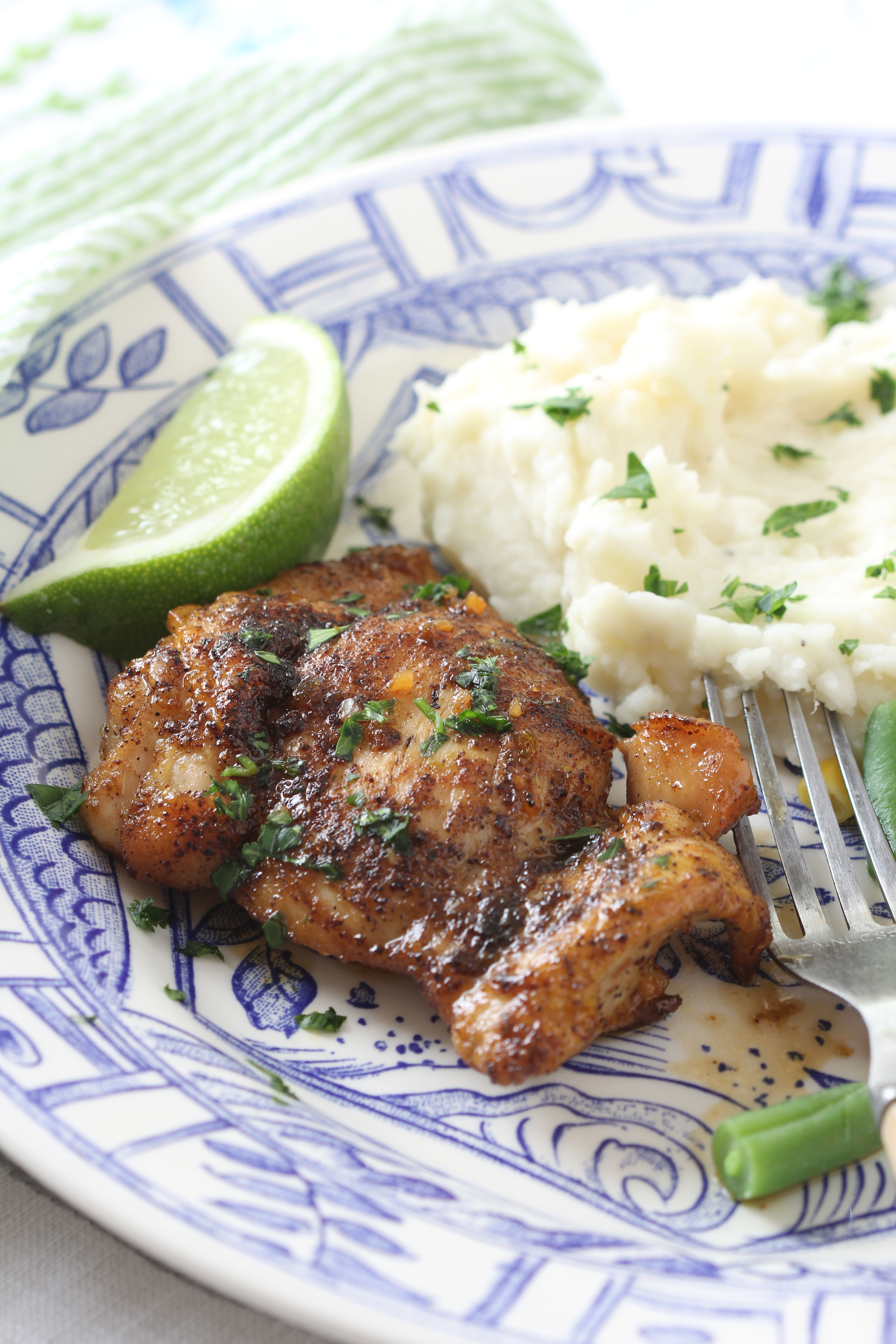Looking for a easy, weeknight diner? Then give this Skillet Honey Lime Chicken recipe that Ridgely shares on her blog Ridgely's Radar.