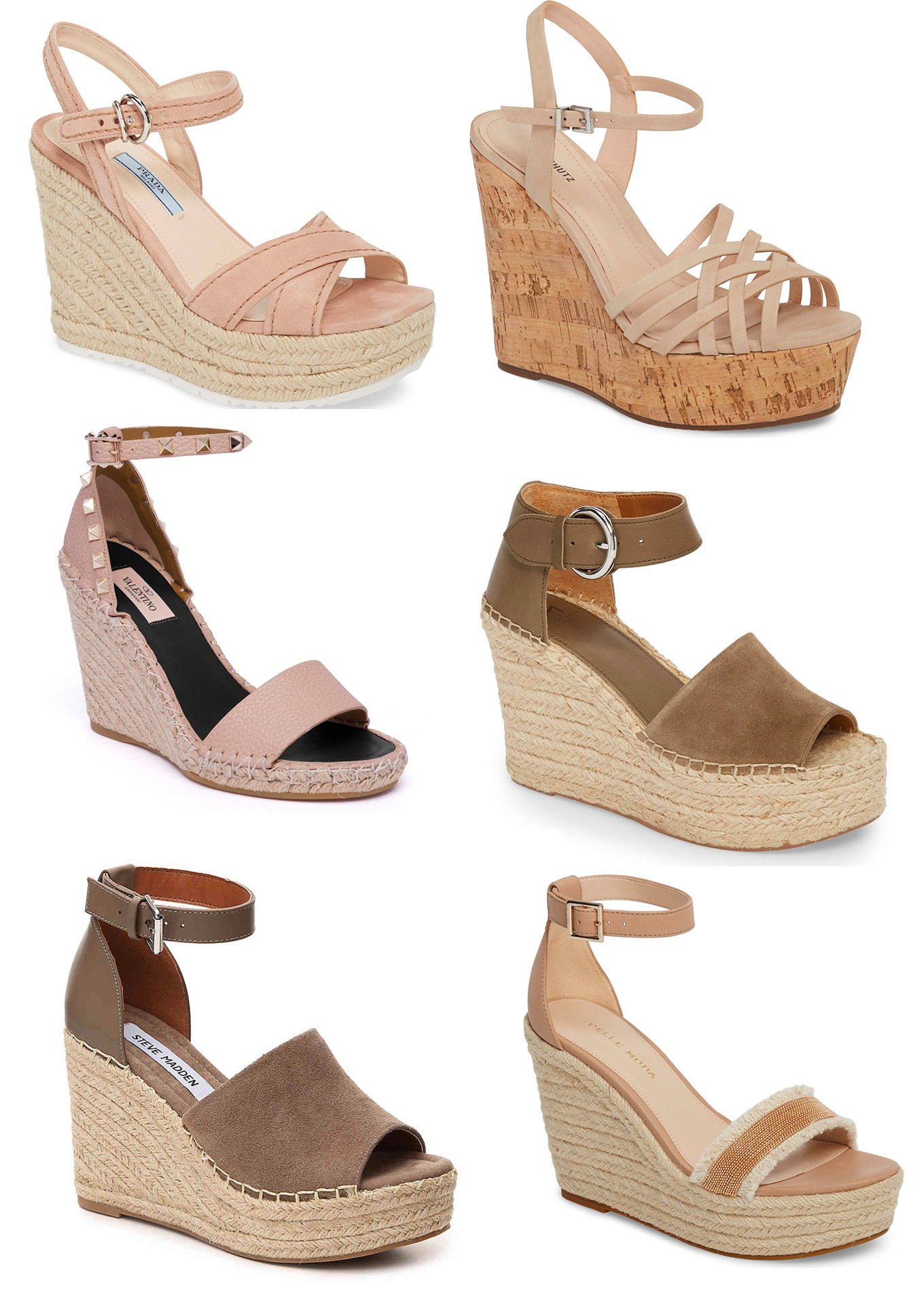 Ridgely Brode is looking for a neutral wedge to wear with jeans to dresses and finds lots of good options on her blog, Ridgely's Radar. The hard part is picking just one pair!