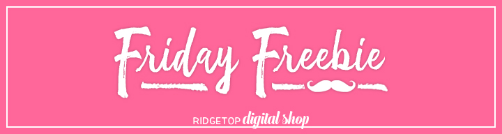 Friday Freebie | Free Party Printables | Ridgetop Digital Shop