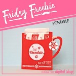 Friday Freebie: Hot Drink Pouch Printable