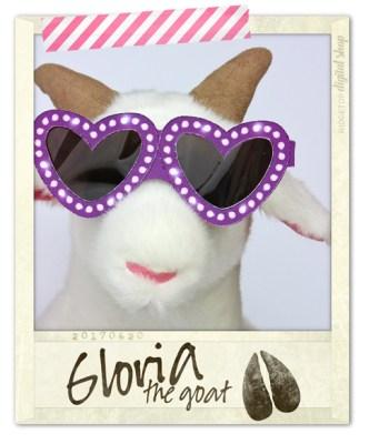 Ridgetop Digital Shop | Friday Freebie | Valentine Glasses | Gloria the Goat