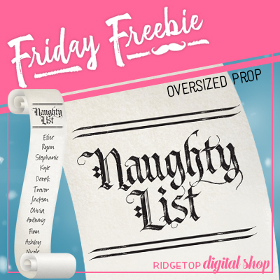 Friday Freebie: 2018 Naughty List