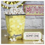 Snapshot – Popcorn Box – Movie Night