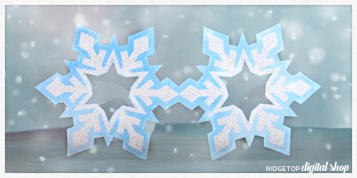 Ridgetop Digital Shop | Friday Freebie | Printable | Glasses | Snowflake