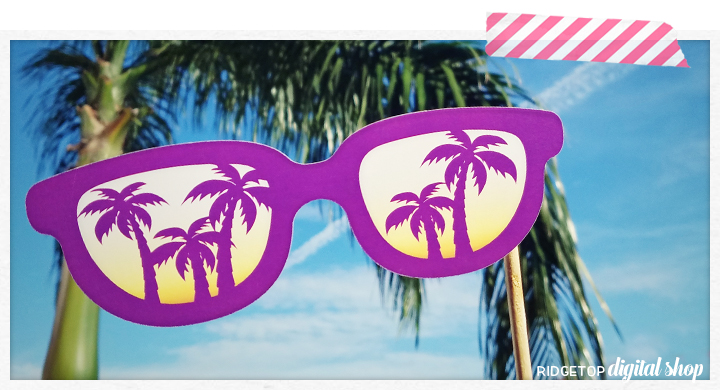Ridgetop Digital Shop | Luau Anniversary Photo Props
