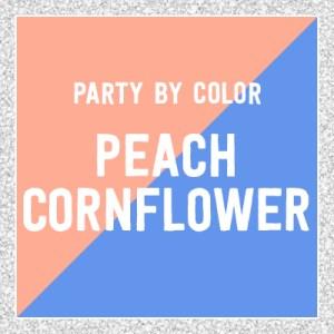Peach Cornflower