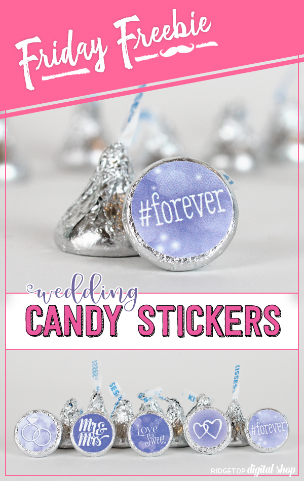 VIctorian Lilac Wedding Favor | Victorian Lilac Free Printable | Victorian Lilac Candy Sticker Free Printable | Victorian Lilac Party Idea | Ridgetop Digital Shop