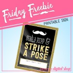 Friday Freebie: Photo Booth Sign