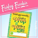 St. Patrick's Day Photo Booth Sign Free Printable