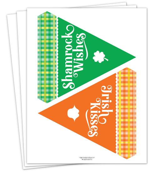 St. Patrick's Day Banner | St Patricks Day Party | Free Printable | Ridgetop Digital Shop