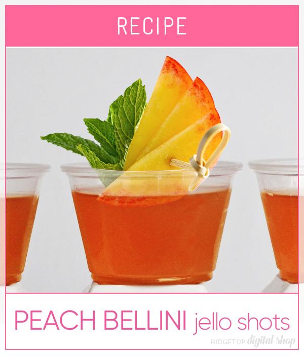 Peach Bellini Jello Shot Recipe