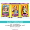 Class Photo Banner Graduation Party Decor
