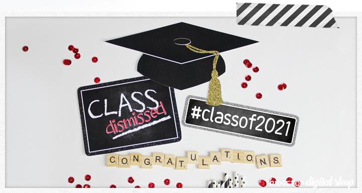 Class of 2021 Printable Party Decor | Ridgetop Digital Shop