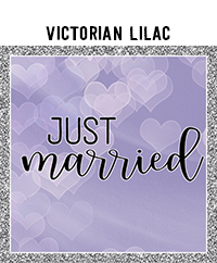 Ridgetop Digital Shop | Wedding Day Photo Booth Props | Victorian Lilac