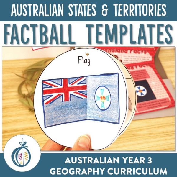 AUSTRALIAN STATES & TERRITORIES FACTBALLS | RIDGY DIDGE RESOURCES | AUSTRALIA
