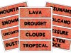 Natural Disasters Word Wall   Ridgy Didge Resources   Australia