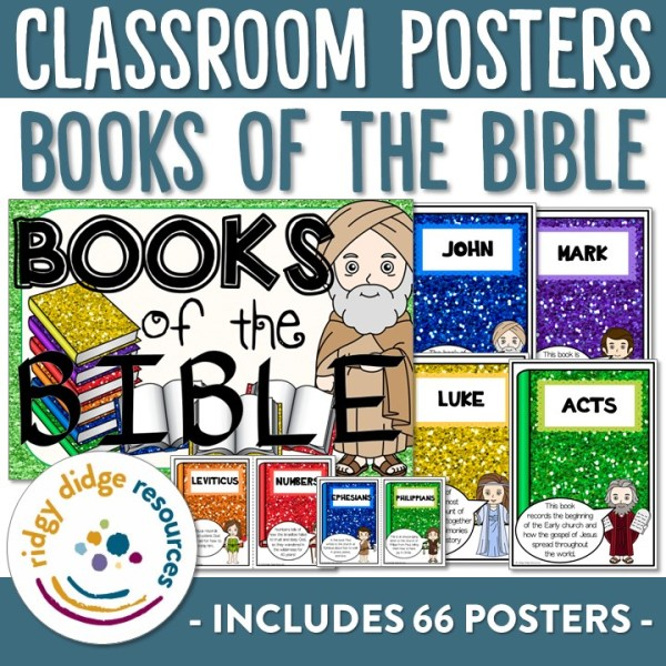 Books of the Bible Posters | Ridgy Didge Resources | Australia