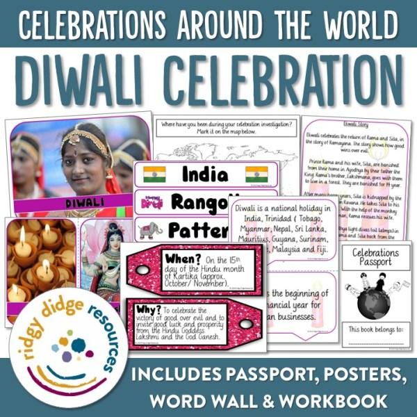 Diwali Activity Bundle | Ridgy Didge Resources | Australia
