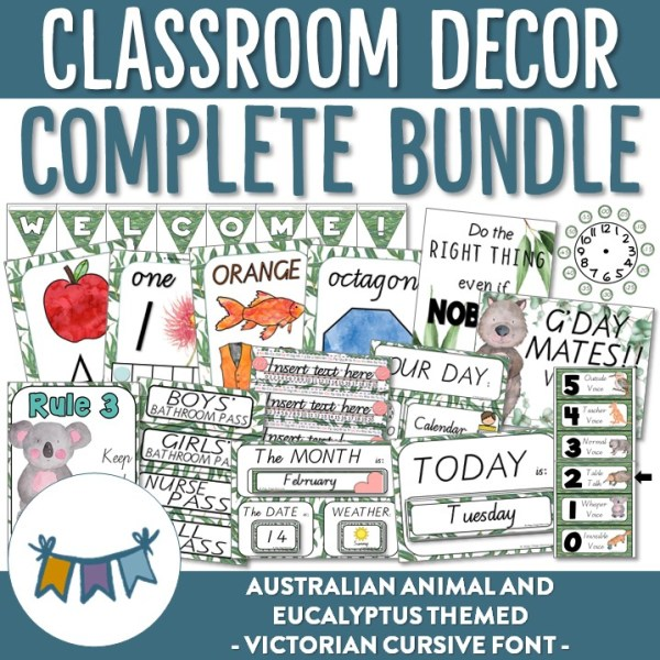 AUSTRALIAN ANIMAL VICTORIAN BUNDLE | RIDGY DIDGE RESOURCES | AUSTRALIA