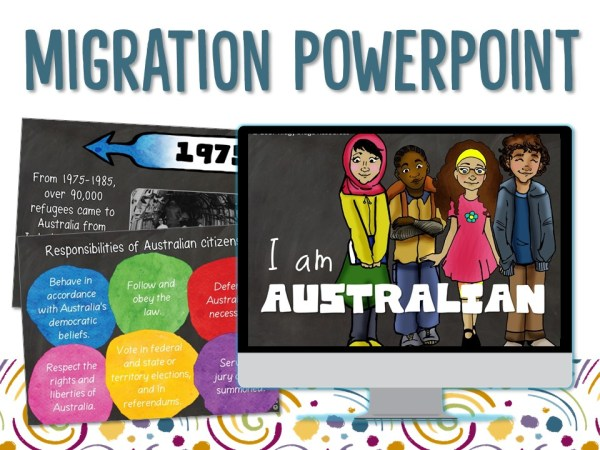 Year 6 Migration Powerpoint | Ridgy Didge Resources | Australia
