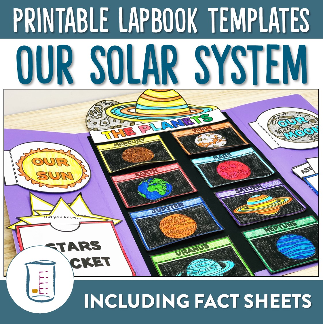 Solar System Lapbook And Fact Sheets