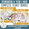 Composite Foundation and Year 1 HASS Units | Ridgy Didge Resources | Australia