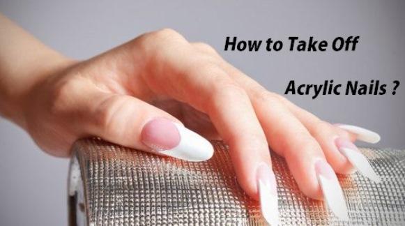 Remove Acrylic Nails