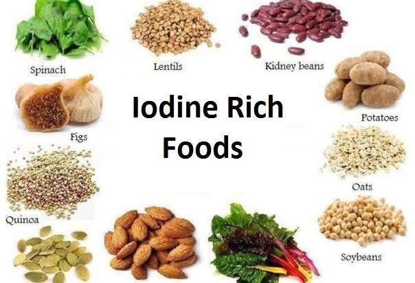 What Foods Are High In Iodine And Selenium