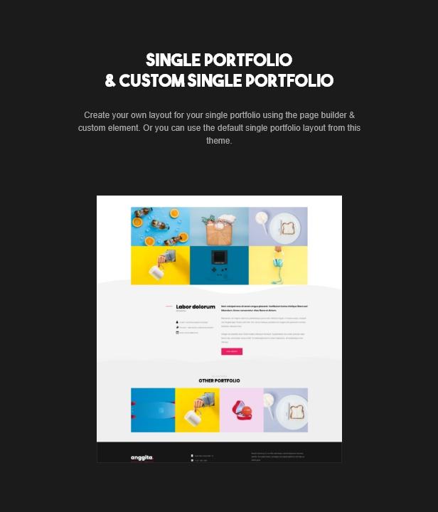 Anggita - One Page Portfolio Theme - 5