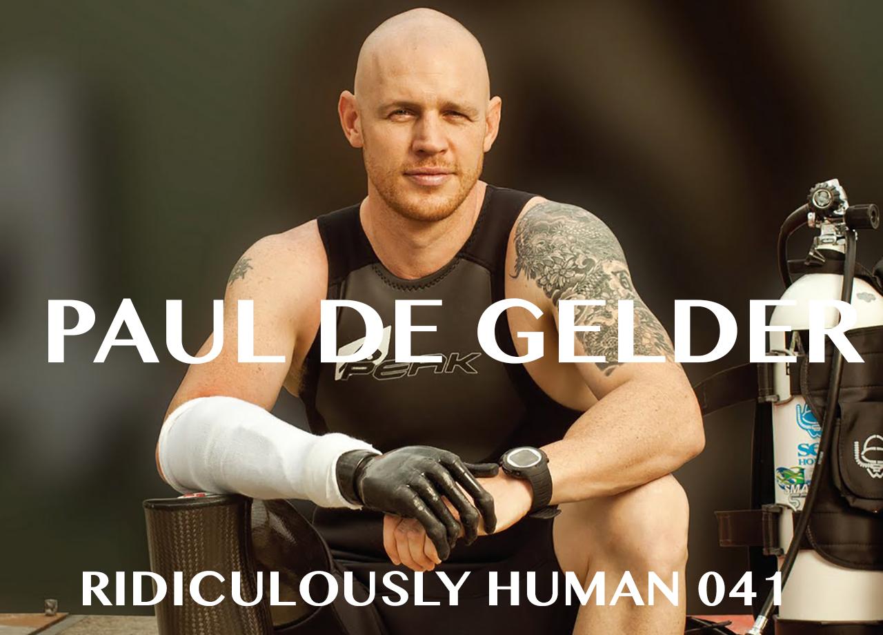 Paul De Gelder - Shark Attack Survivor. Plant Powered Bionic Man