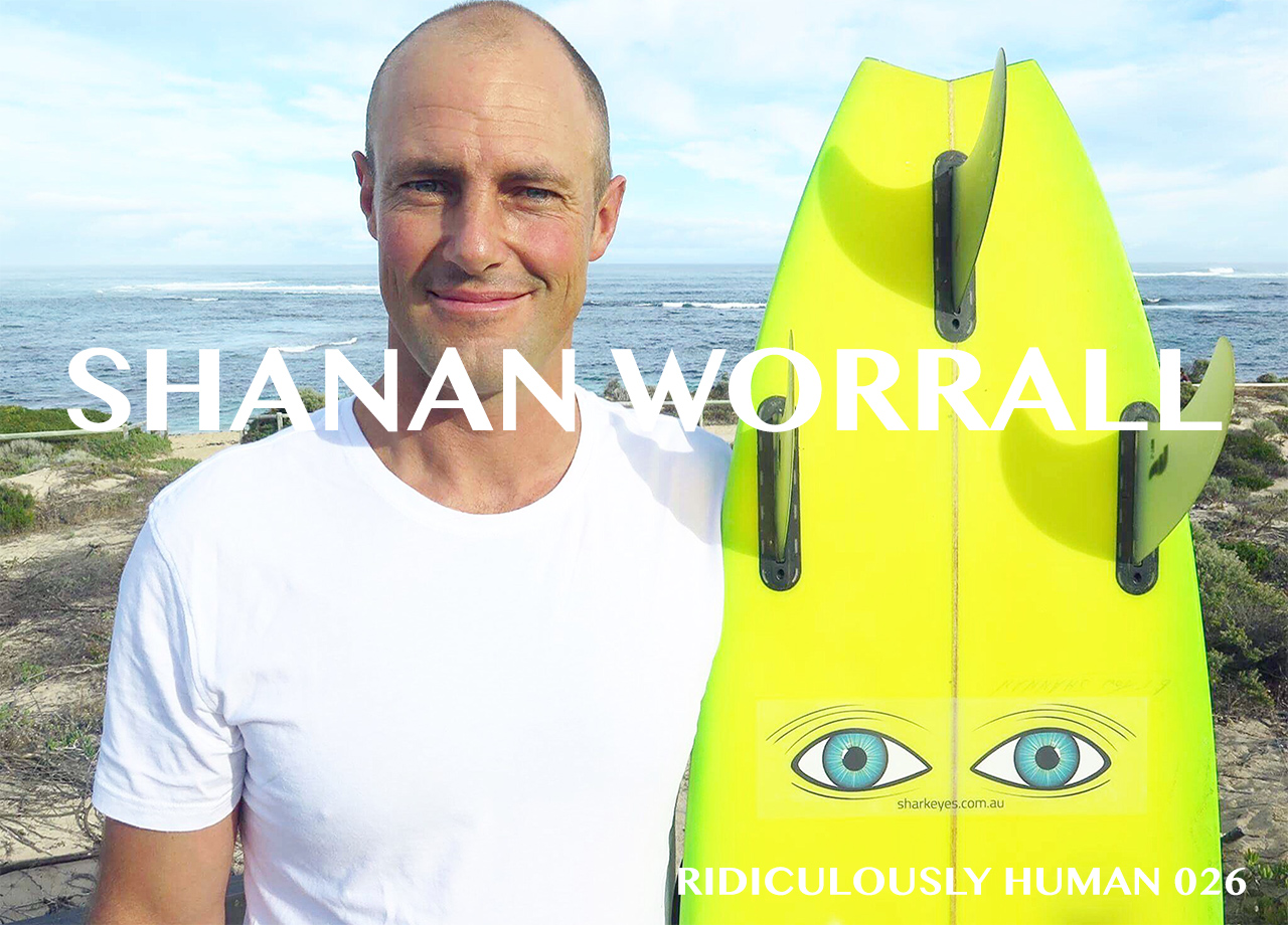 Shanan Worral - Big Waves. Shark Eyes