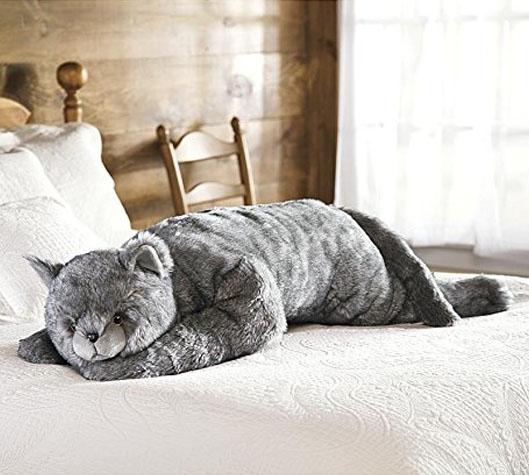 big cat pillow ridiculous kitty