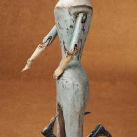 Rare 19th century eight-legged walking doll