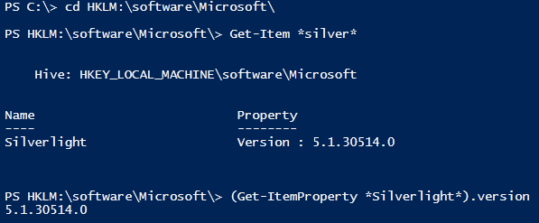 Powershell : Providers
