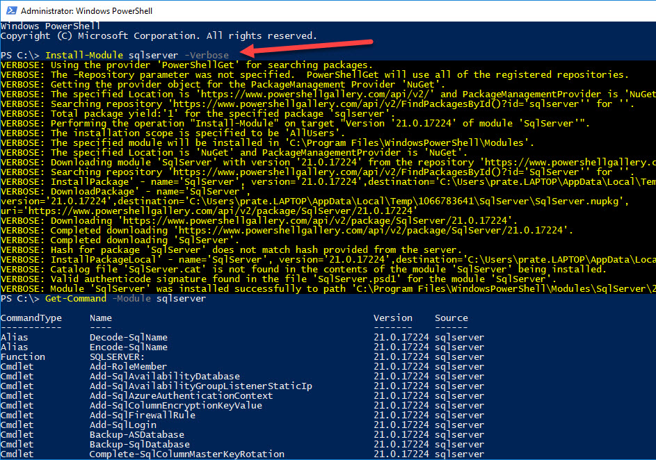 PowerShell Scripting guide to Python