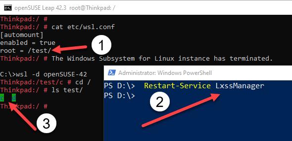Setup WSL Launch Configuration - WSL CONF | RidiCurious com