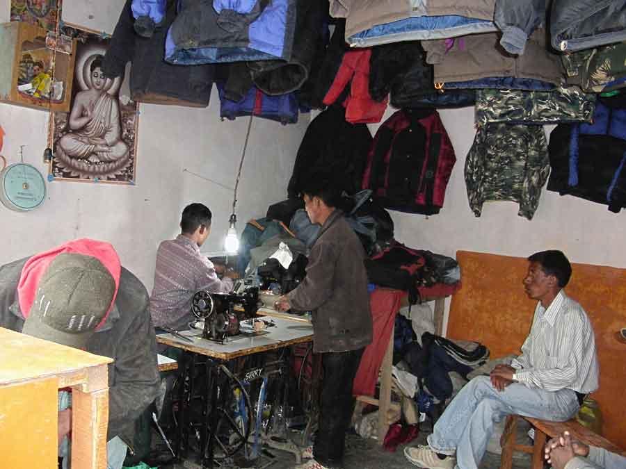Tailor-shop