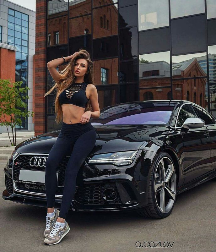 Audi RS7 on Ridin