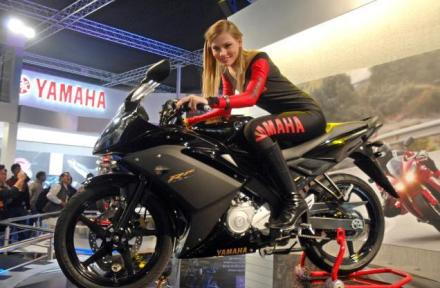 Yamaha YZF-R15 on Ridin'Girls Blog