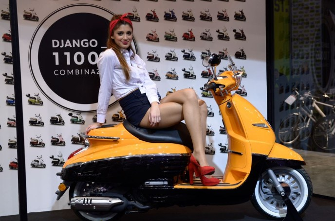 Peugeot Django on Ridin'Girls Blog