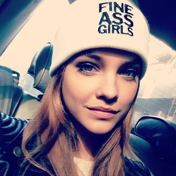 Barbara Palvin on Ridin'Girls Blog
