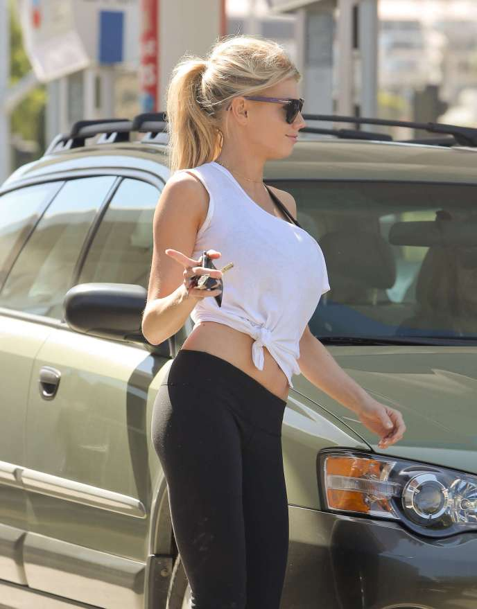 Charlotte McKinney on RidinGirlsBlog