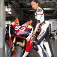 Pic of the Day: December 11th 2018 - Annie Prisana & Honda CBR 1000 RR