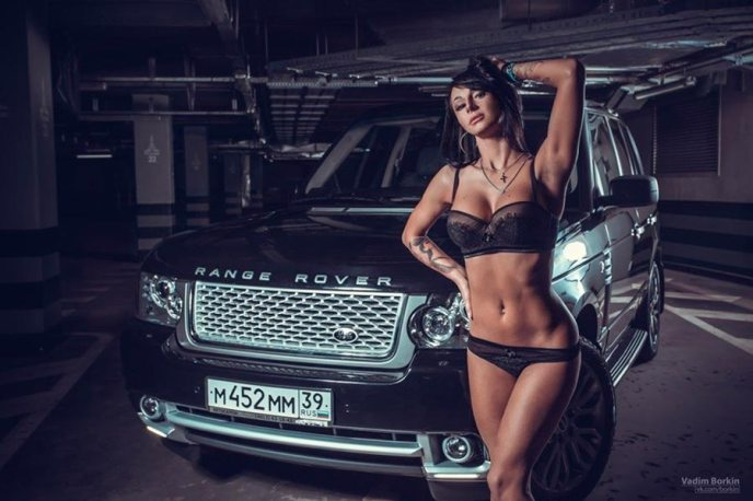 Range Rover Vogue on Ridin'Girls Blog