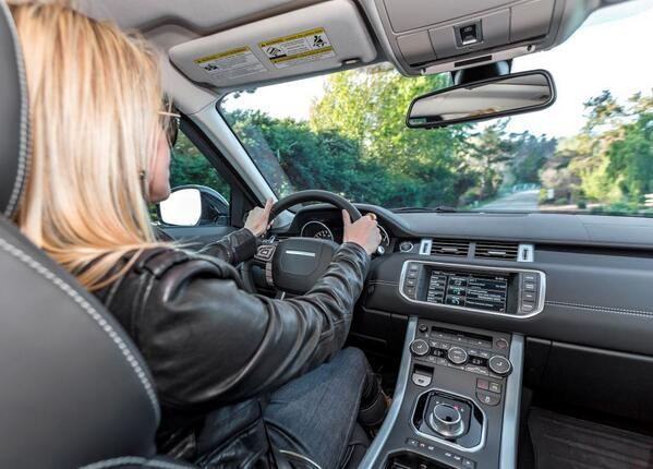 Range Rover Evoque on Ridin'Girls Blog